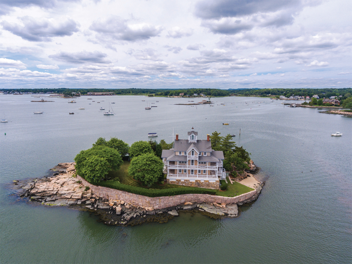There's a Magical Collection of Private Islands for Sale off the Coast of Connecticut