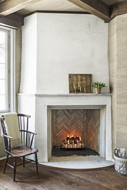 designs for fireplaces. Bring the Outdoors in with River Stone 40  Fireplace Design Ideas Mantel Decorating
