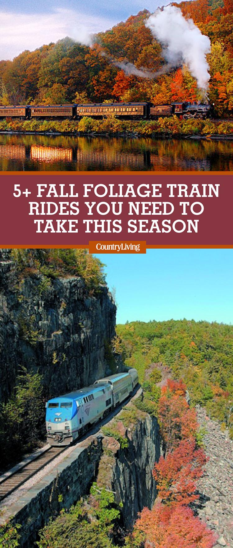 8 Best Fall Foliage Train Rides Fall Leaf Peeping Train