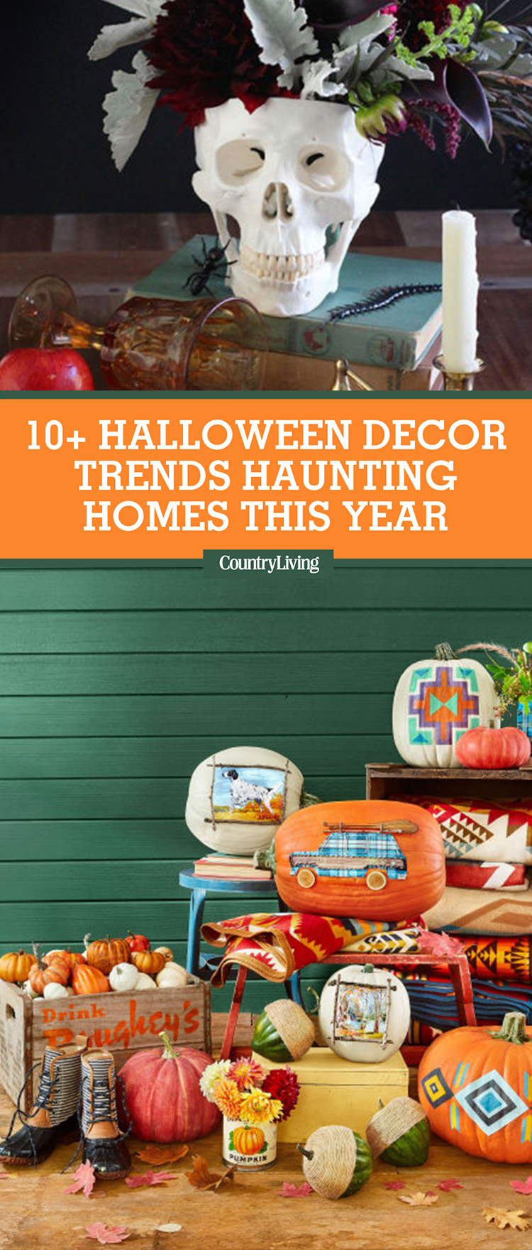10 Halloween Decor Trends Taking Over Homes This 2017 The One Halloween Decoration Home Depot: halloween decorations home depot