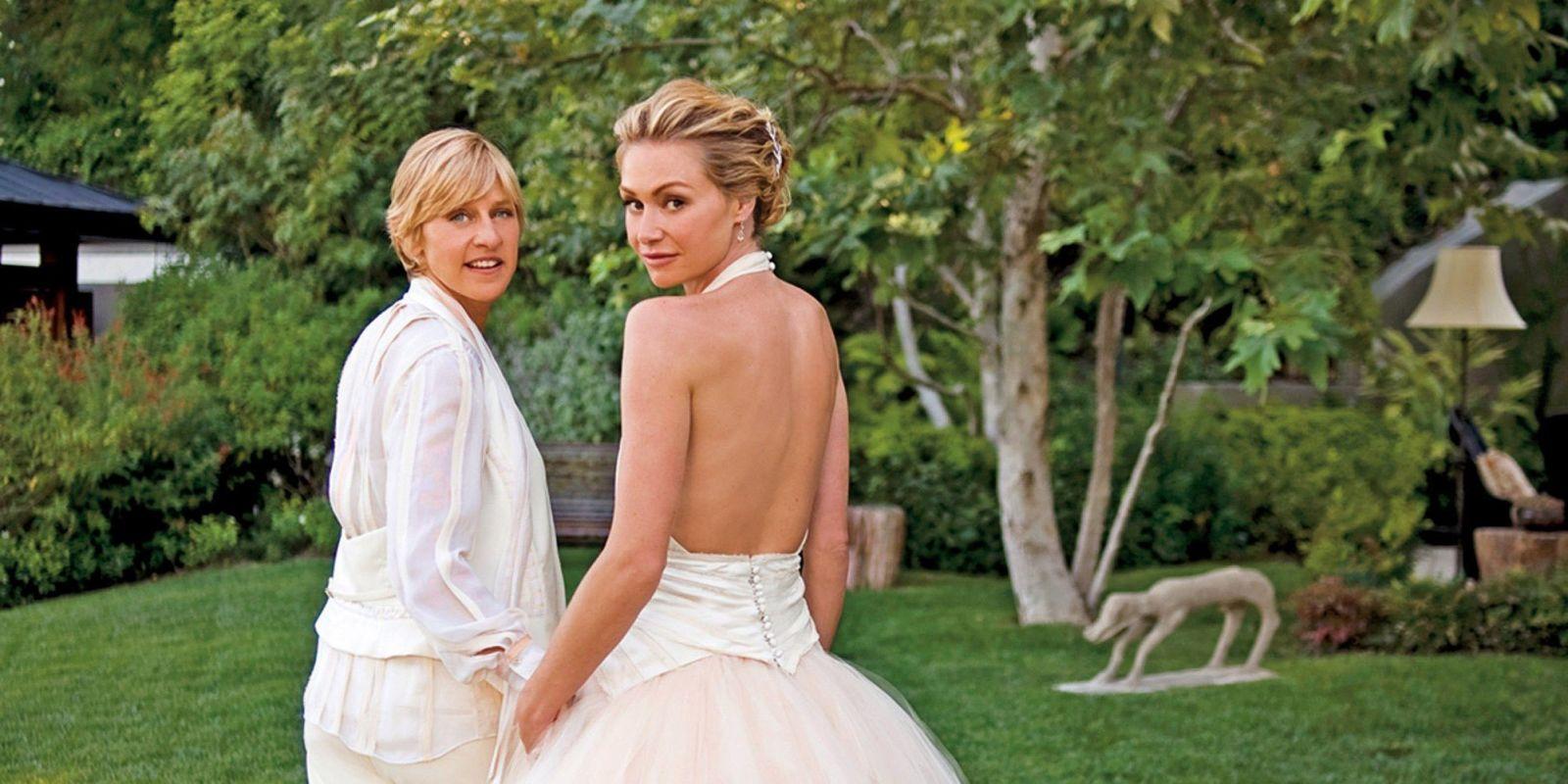 Ellen degeneres and portia de rossi love story are ellen for Ellen degeneres and portia de rossi story