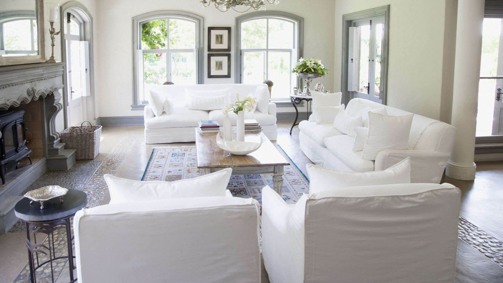 white couch living room. white sofa living room What No One Tells You About Owning a White Couch  The Truth
