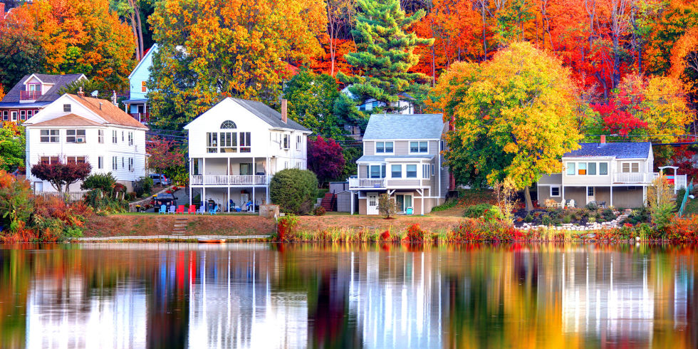 Best Leaf Peeping Destinations In The US Heres Where To - Us fall color map