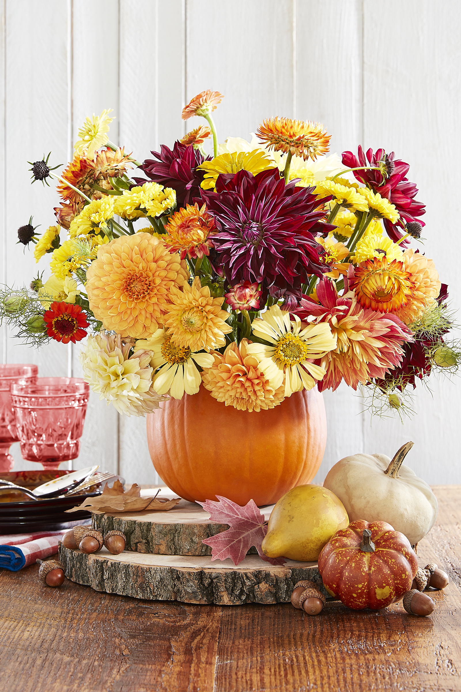 Diy thanksgiving centerpieces table decor