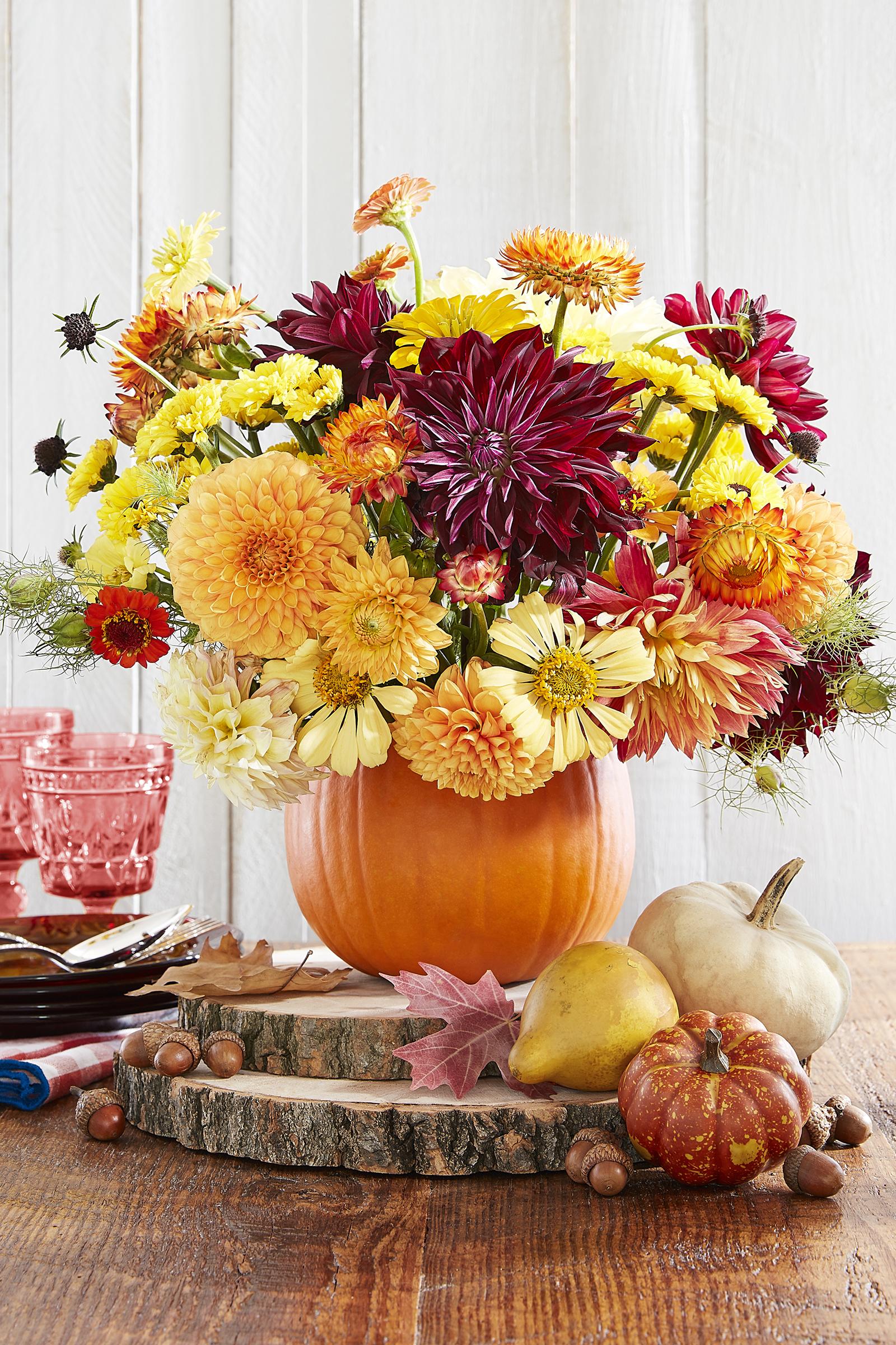 Thanksgiving Centerpiece : Diy thanksgiving centerpieces table decor