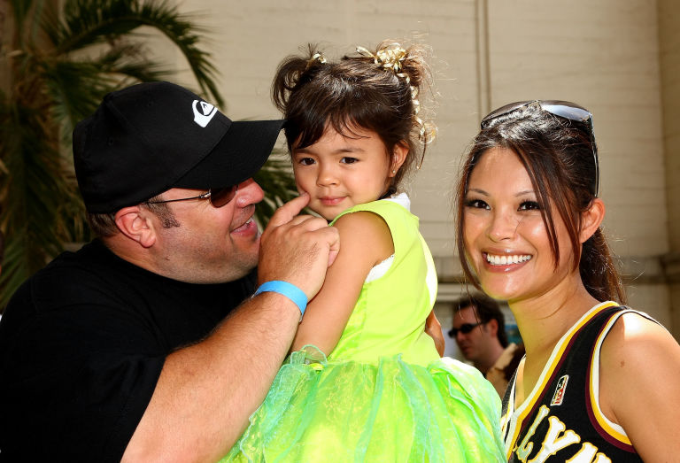 Steffiana and her husband Kevin with their youngest daughter, Sienna-Marie Jame