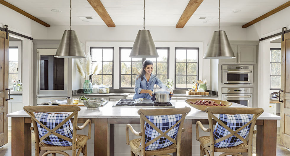 kitchen island design ideas. Double Duty 50  Best Kitchen Island Ideas Stylish Designs for Islands