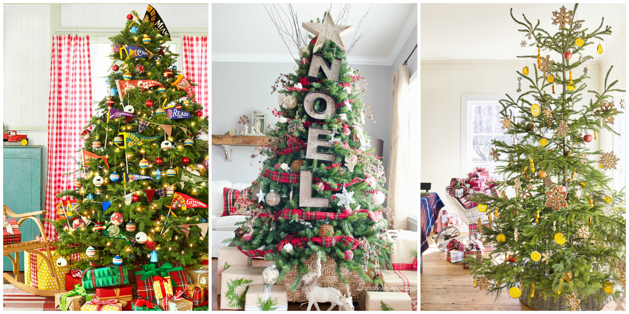 60 best christmas tree decorating ideas how to decorate for Decoration xmas tree