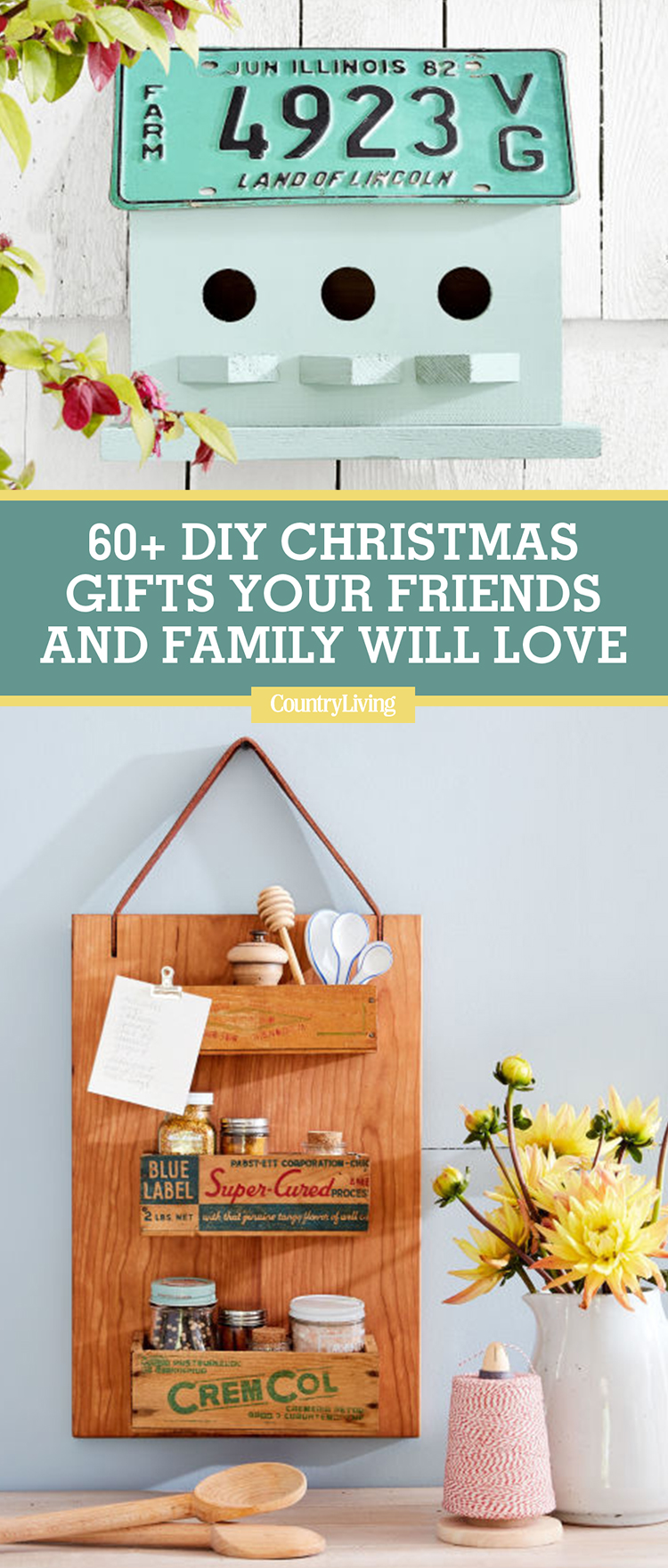 60 DIY Homemade Christmas Gifts - Craft Ideas for ...
