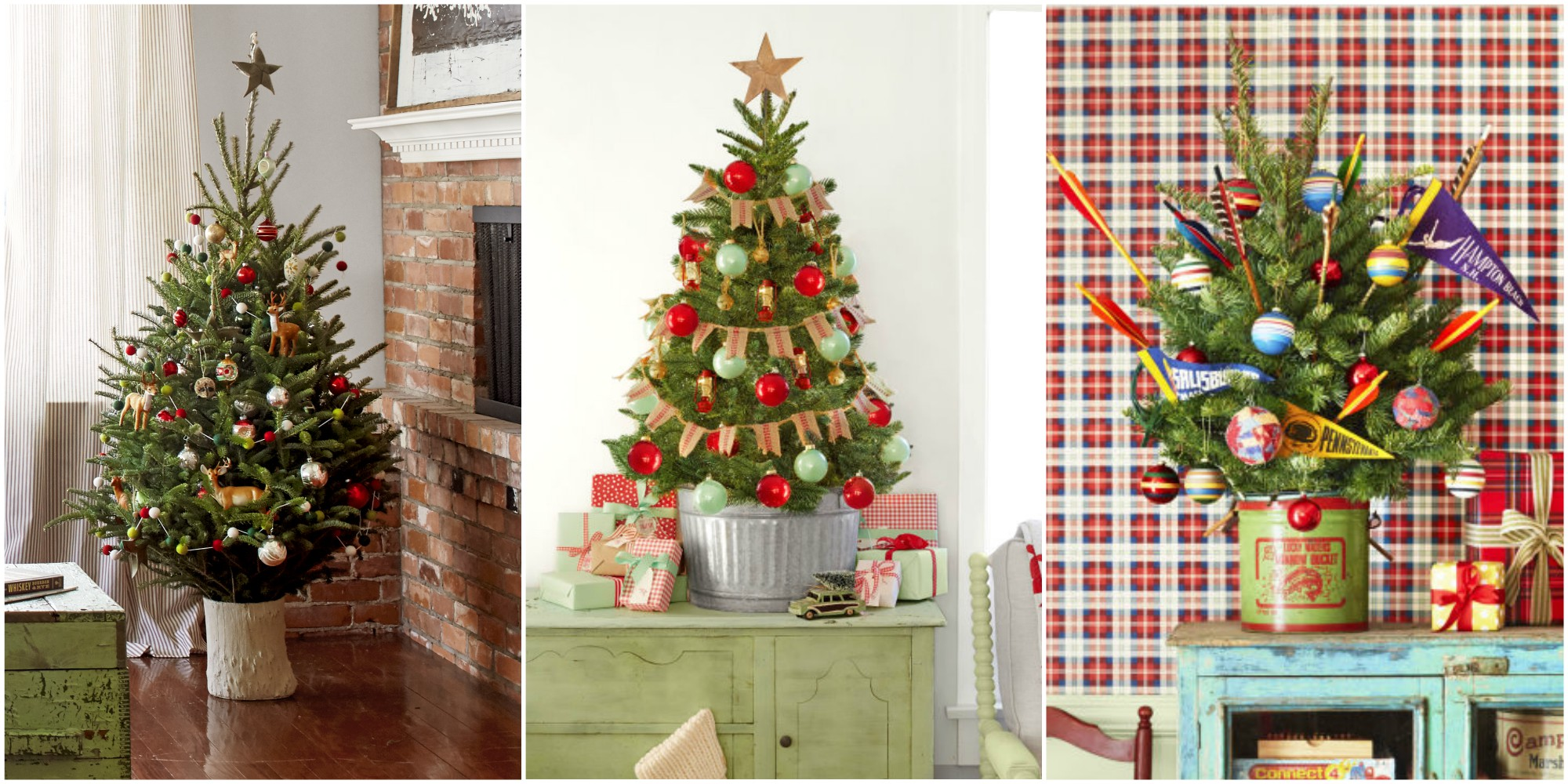 18 Best Small Christmas Trees - Ideas for Decorating Mini ...