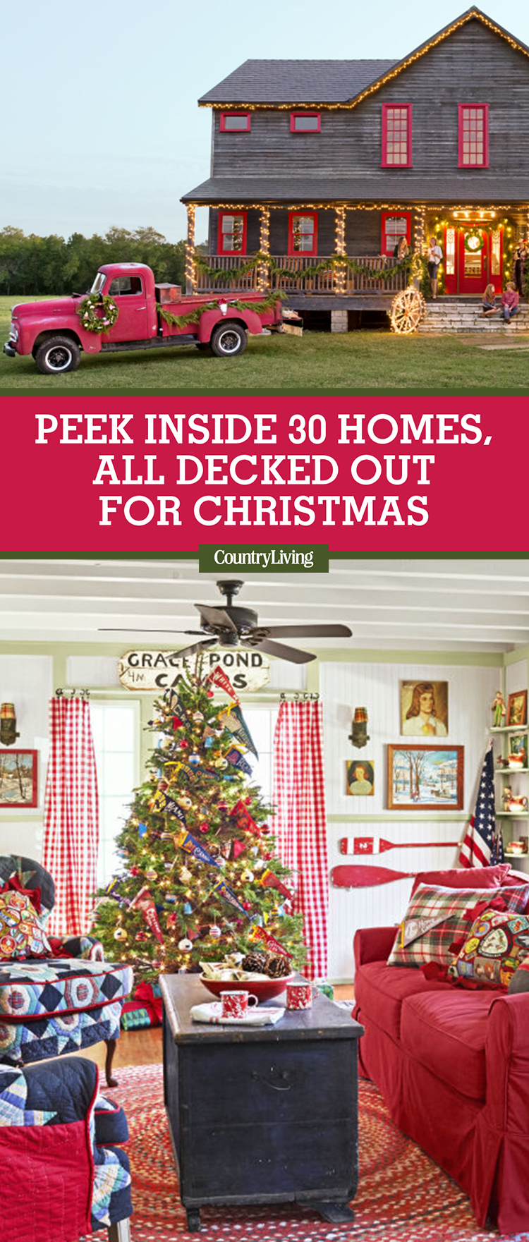 30 Homes, All Decked out for Christmas