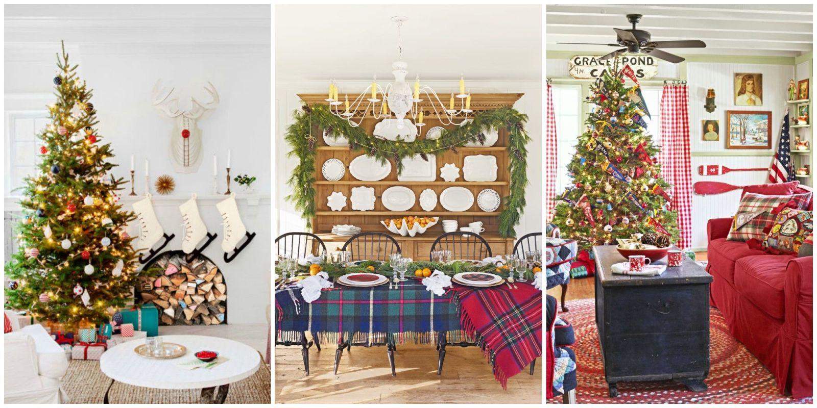 30 best christmas home tours houses decorated for christmas - Christmas House Pictures