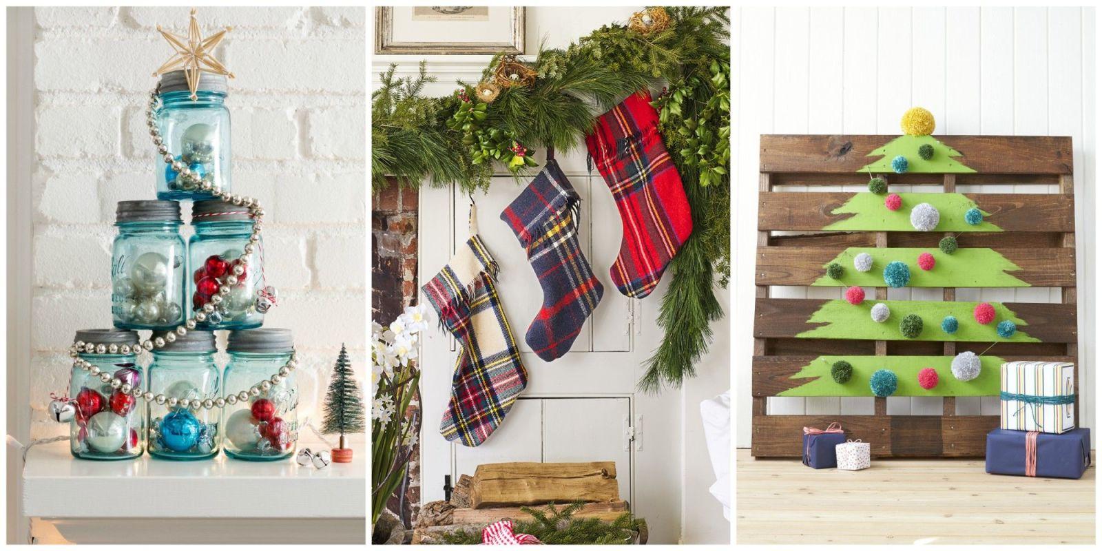 DIY Homemade Christmas Decorations Christmas Decor You Can Make - Christmas decoration craft ideas