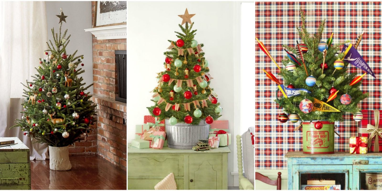 18 best small christmas trees ideas for decorating mini christmas trees. Black Bedroom Furniture Sets. Home Design Ideas