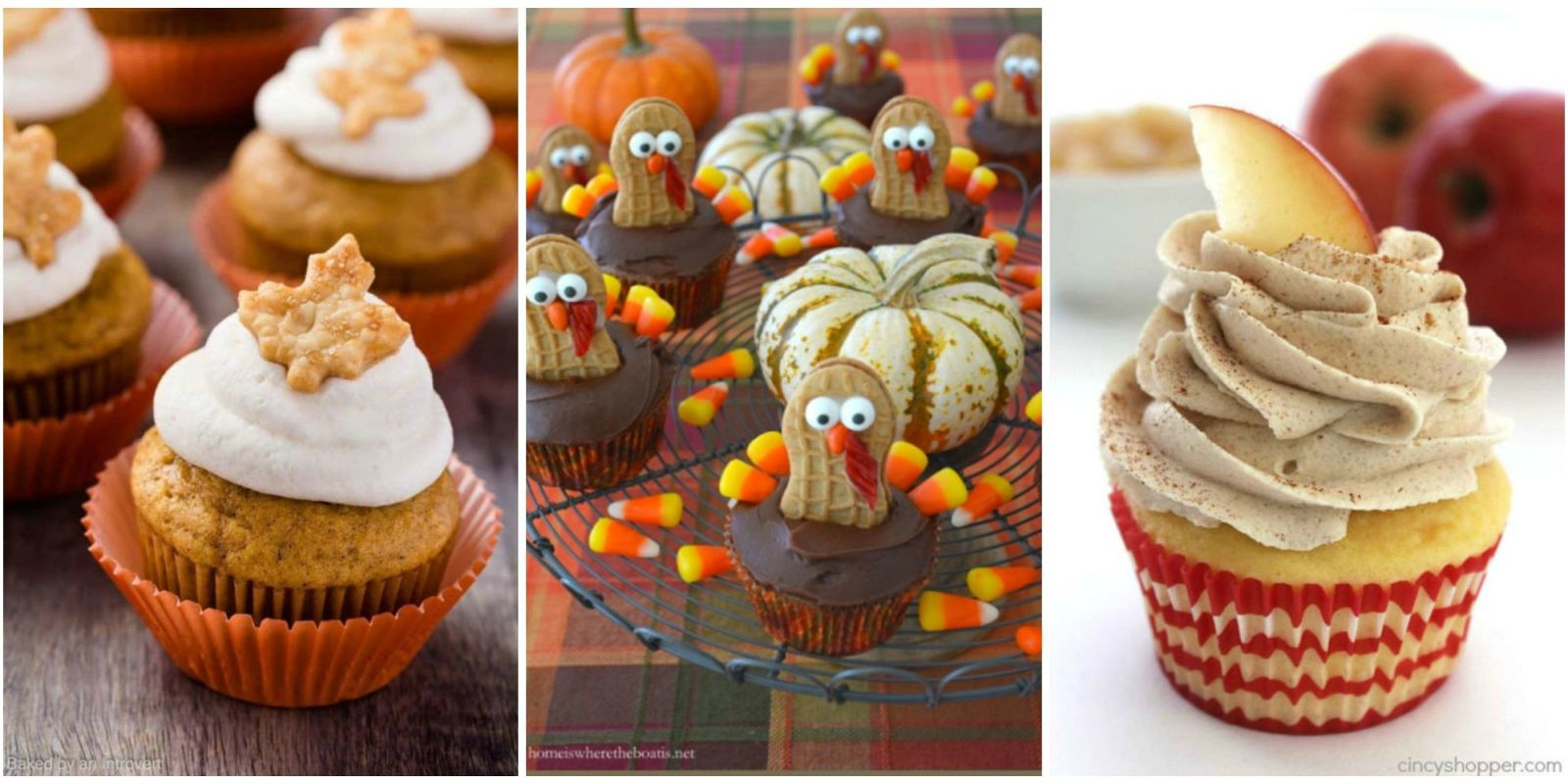 Thanksgiving cupcake decorations - 12 Easy Thanksgiving Cupcakes Cute Decorating Ideas And Recipes For Thanksgiving Cupcakes