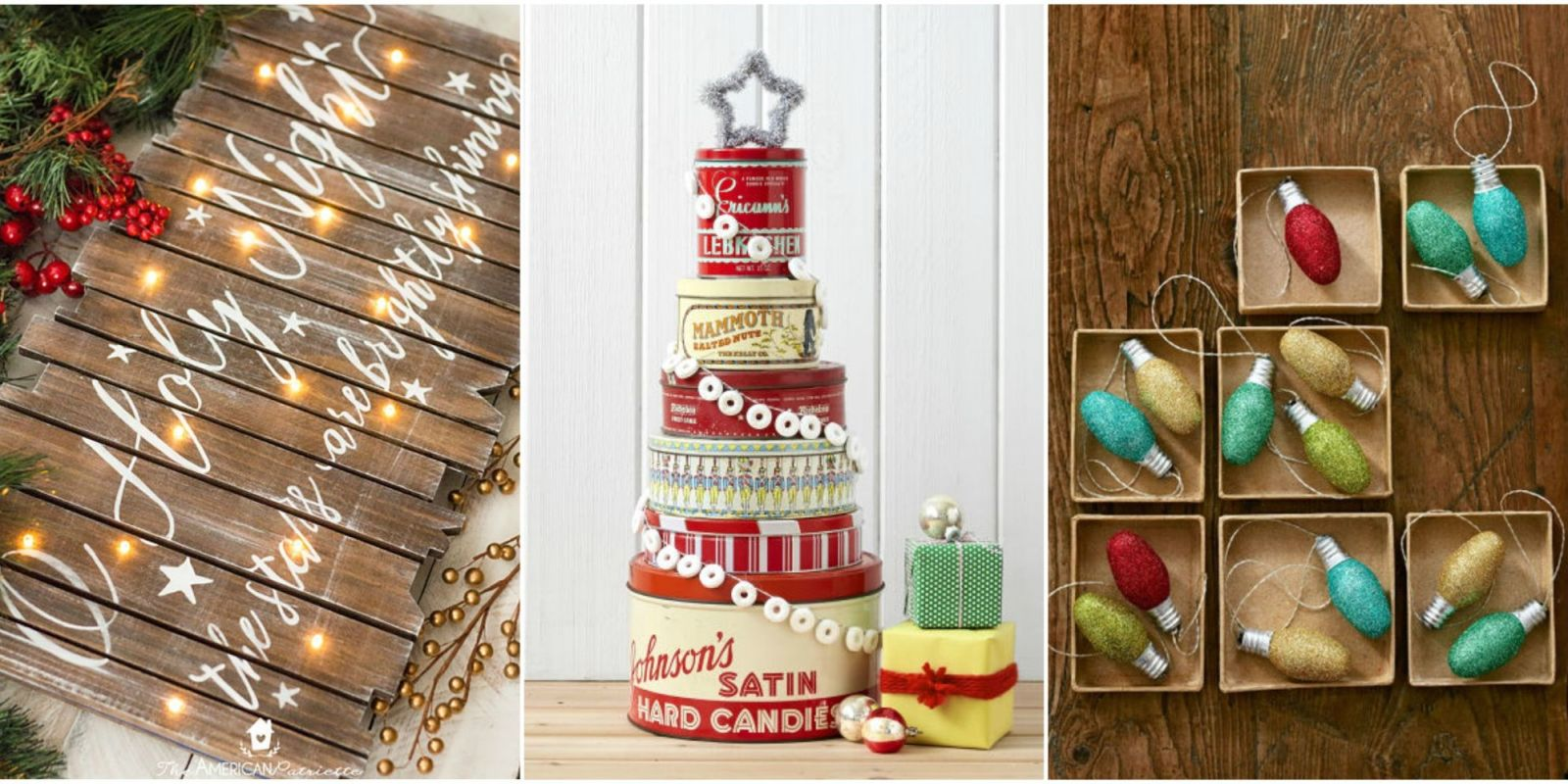 30 easy christmas crafts for adults to make diy ideas for Easy homemade christmas craft ideas