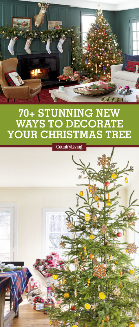 Best Christmas Tree Decorating Ideas How To Decorate A - Colorful christmas tree decor ideas