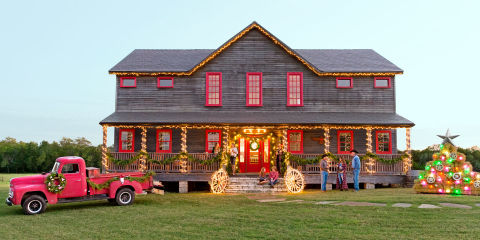 winter wonderland farmhouse christmas house tour
