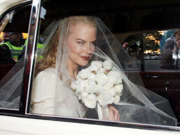 Kidman On Their Wedding Day June 25 2006