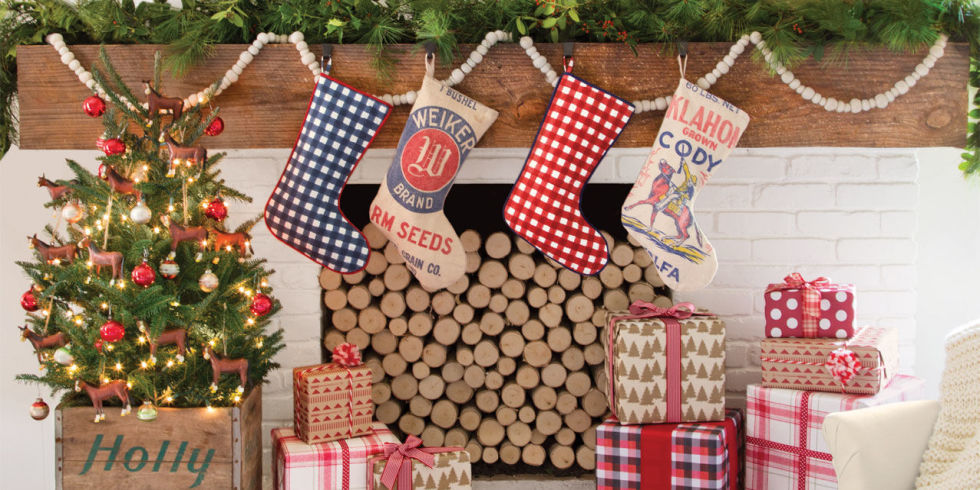 36 Country Christmas Decorating Ideas - How to Celebrate Christmas ...