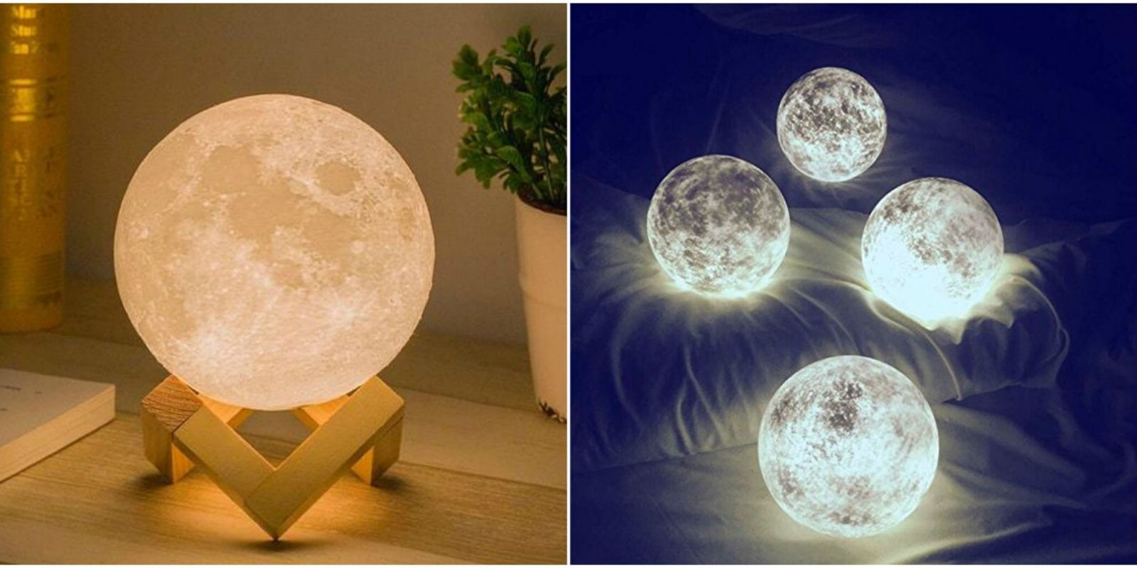 Lamps That Look Like The Moon Luna Lights