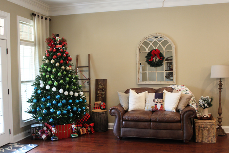 history of the christmas tree courtesy of courtney hamby of the hamby home - Colored Christmas Trees