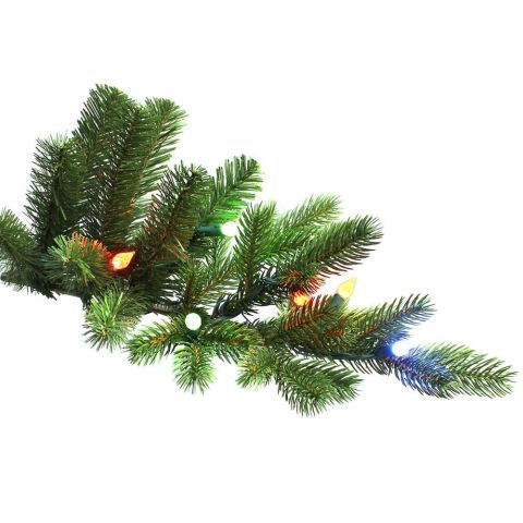 Color changing christmas trees alternate between white or for Country living artificial christmas trees