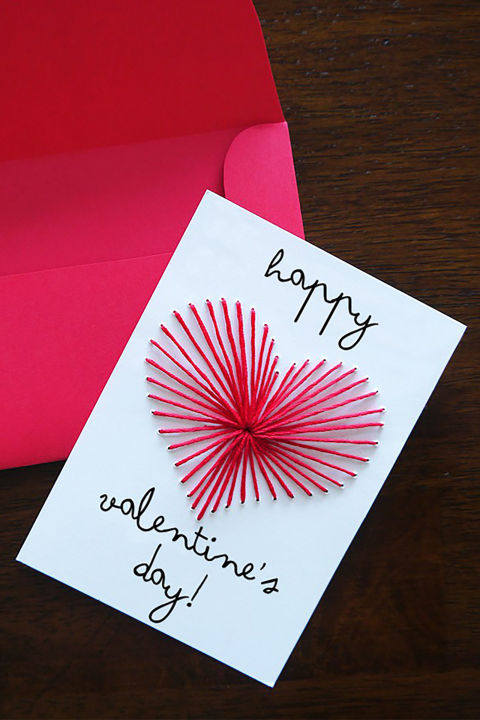 26 DIY Valentines Day Cards Homemade Valentines Country Living – How to Make Valentines Day Cards