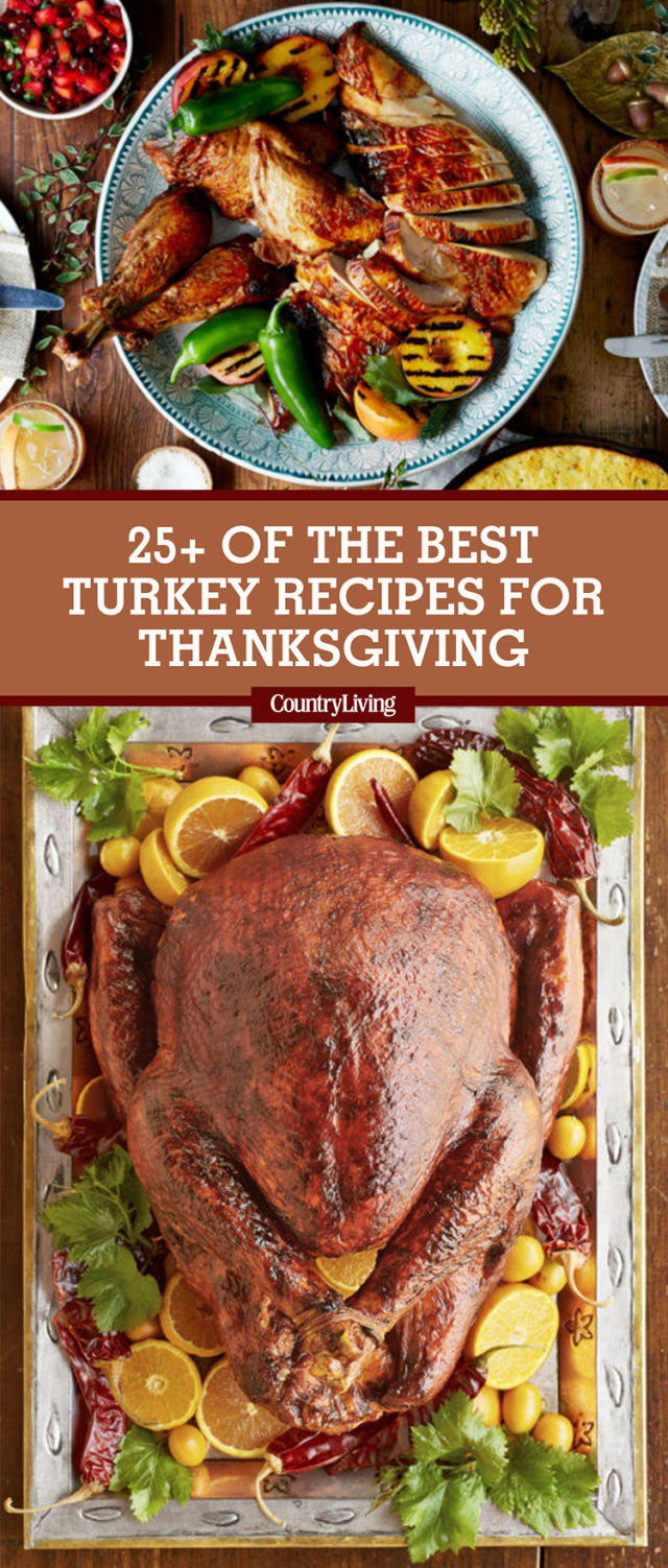 28 best thanksgiving turkey recipes - how to cook turkey