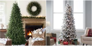 the best artificial christmas trees - Colored Christmas Trees