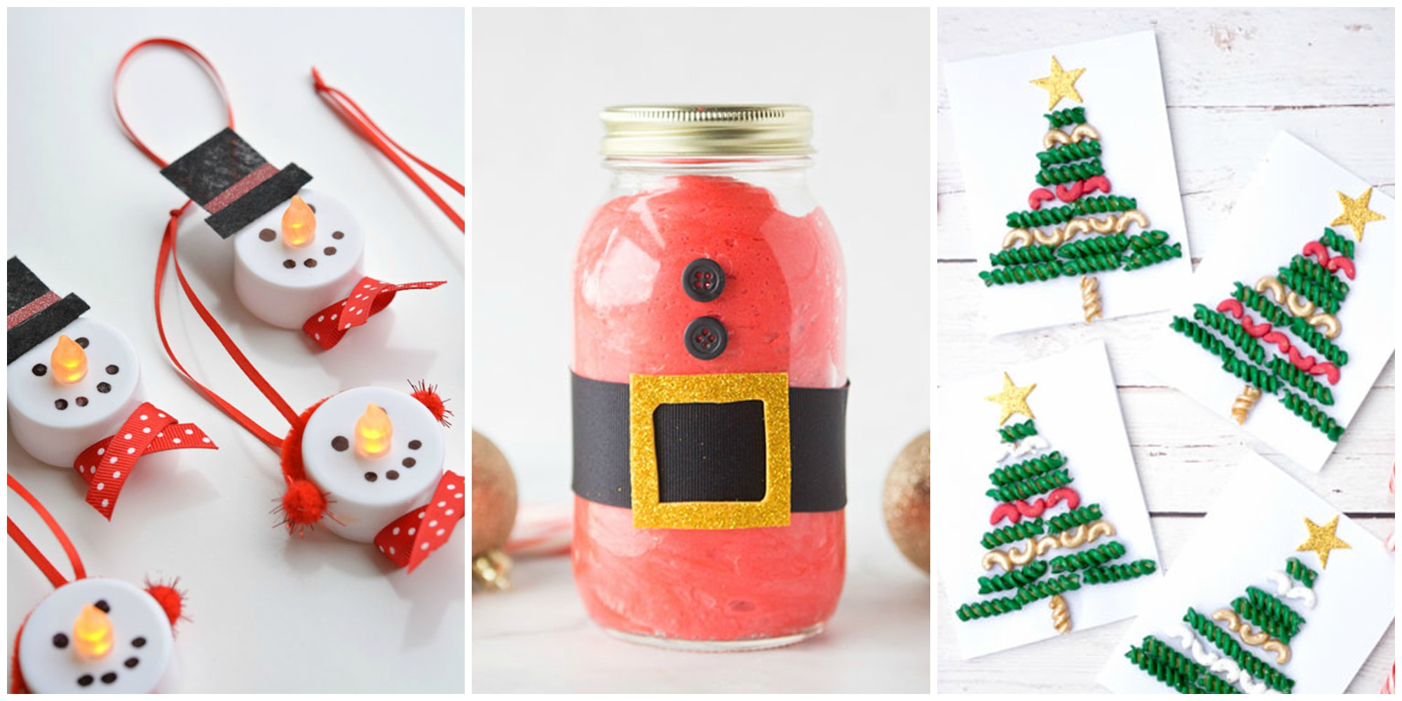 12 easy christmas crafts for kids to make ideas for christmas decorations for kids. Black Bedroom Furniture Sets. Home Design Ideas