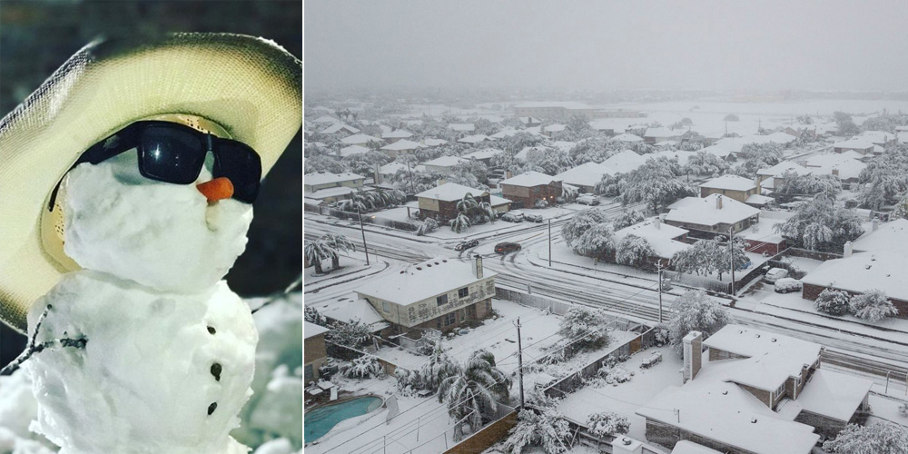 18 Photos Of Texas In The Snow Winter Storm Benji