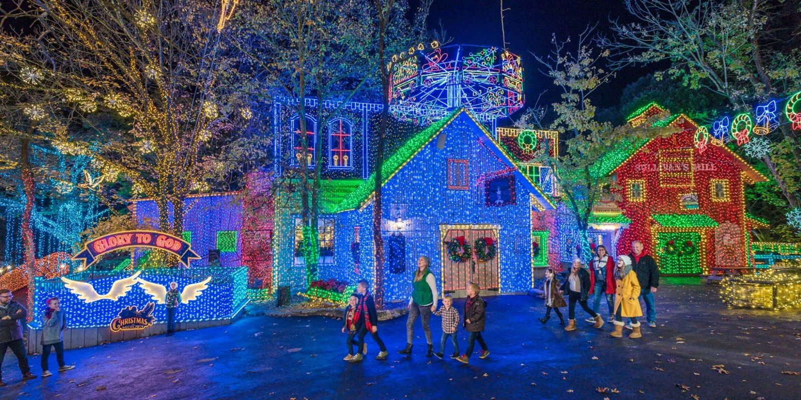 Best Christmas Light Displays Holiday Light Displays In U S
