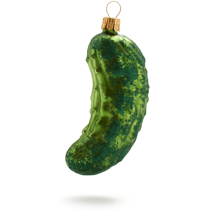 History of the Pickle Christmas Ornament Tradition