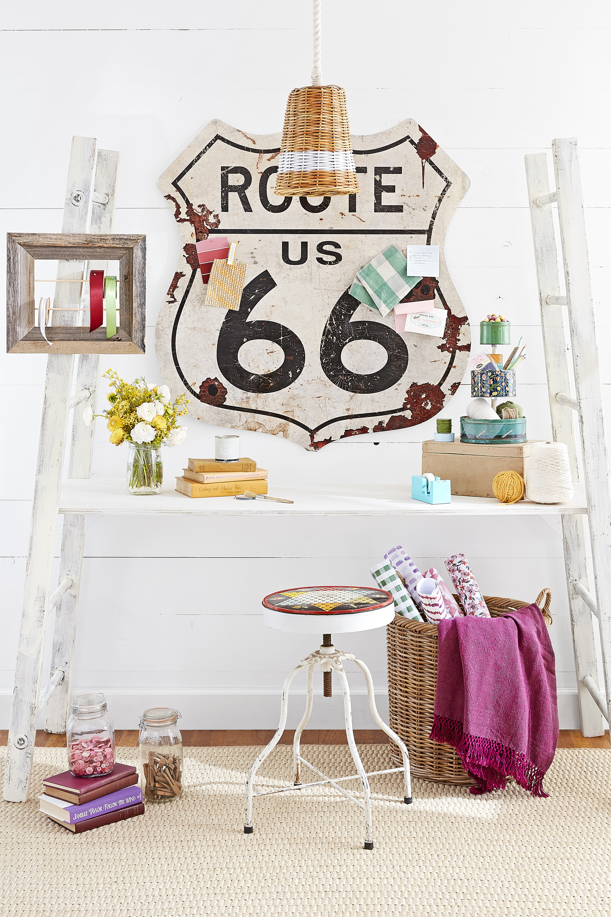Flea Market Home Decor: 37 Clever Ways To Upcycle Flea Market Finds Into Stylish