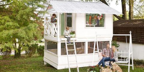 backyard treehouse design ideas - Home Designs Ideas
