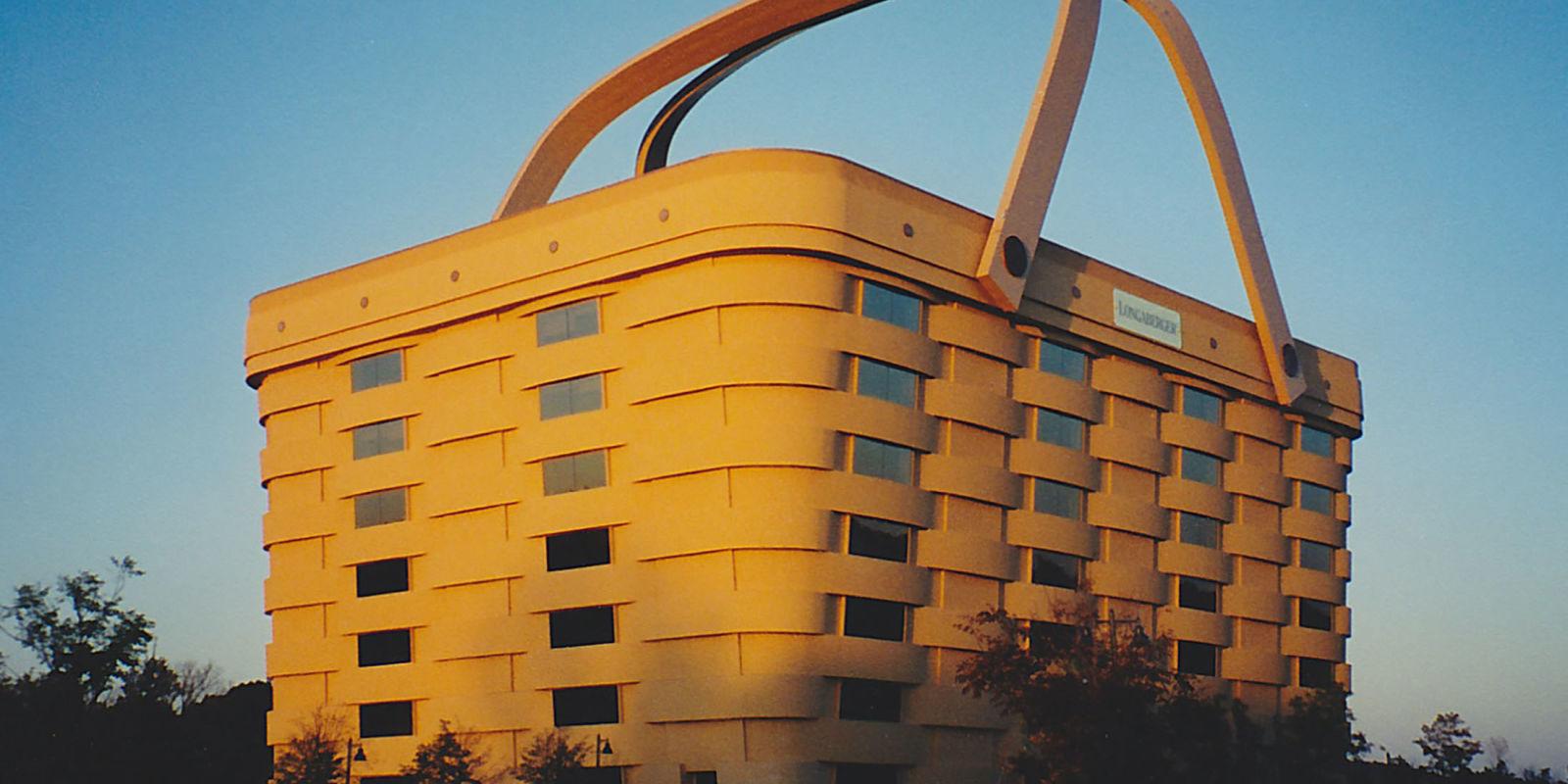 the longaberger basket building just sold for  6 million