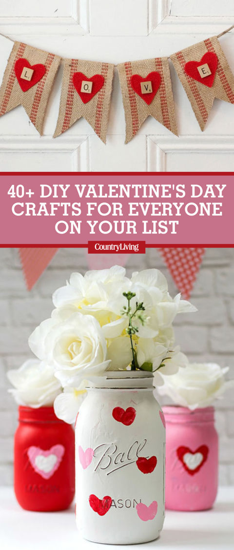 Ideas For Valentines Crafts