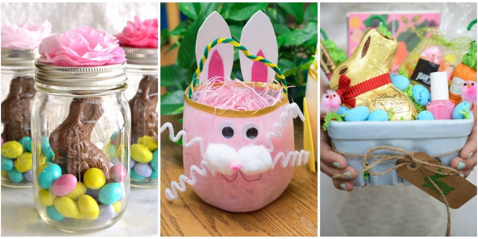23 cute homemade easter basket ideas easter gifts for kids and view gallery negle Images