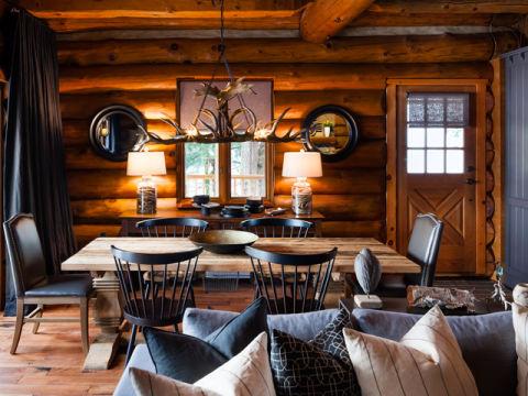 Log Cabin Makeover Ideas Colin And Justins Pressure