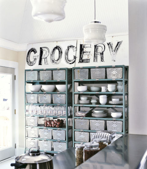 2. Put your pantry on display.