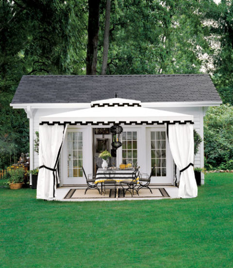 Garden Sheds Raleigh Nc plans for an outdoor room - outdoor dining room