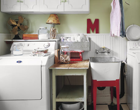 Organization for laundry rooms for Country laundry room