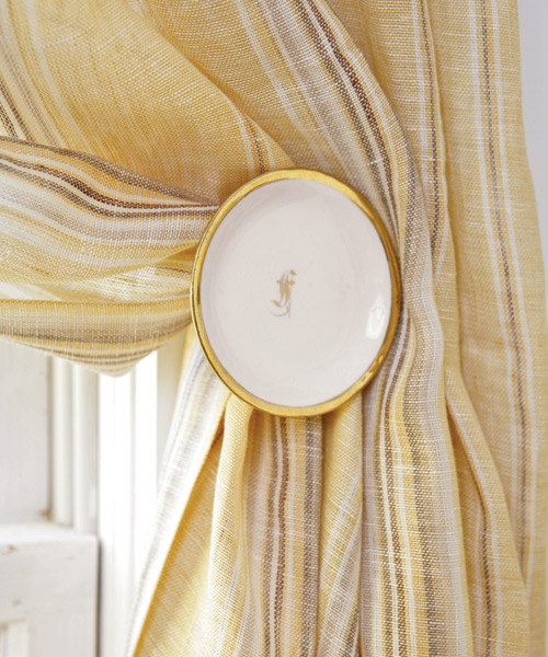 Curtains Ideas curtain holdback ideas : Quick and Easy Curtain Makeovers