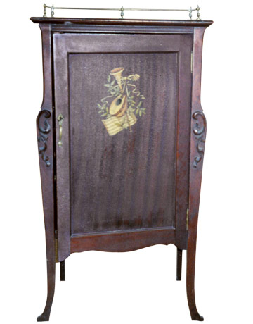 18th-Century Music Cabinet: What Is It? What Is It Worth?