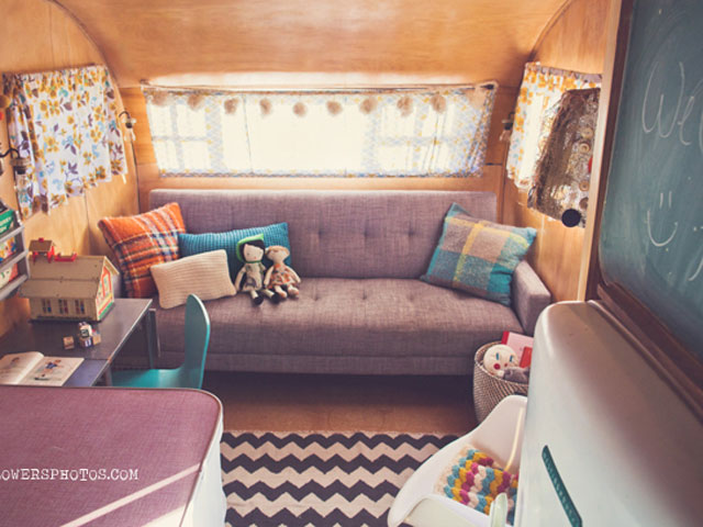 Wildflowers Photography Spartanette Trailer Airstream