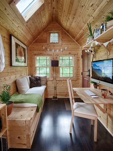 Stupendous Tiny Tack House Tiny House Tour Largest Home Design Picture Inspirations Pitcheantrous