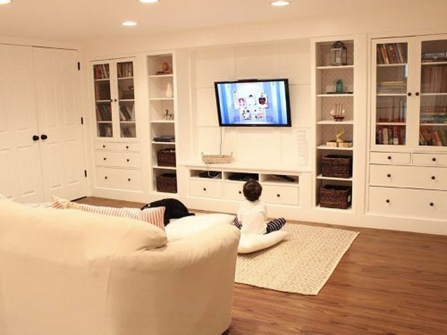 basement remodeling ideas - basement storage ideas