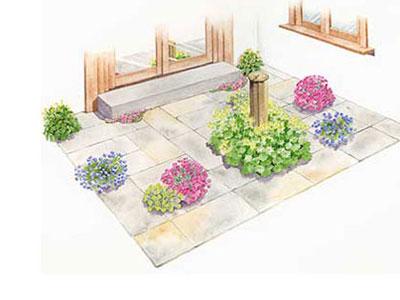 Free garden plans garden design ideas for Garden design zone 8