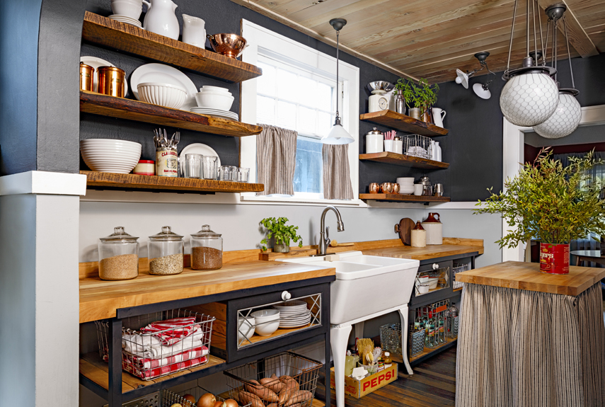 Small Kitchen Storage And Remodeling